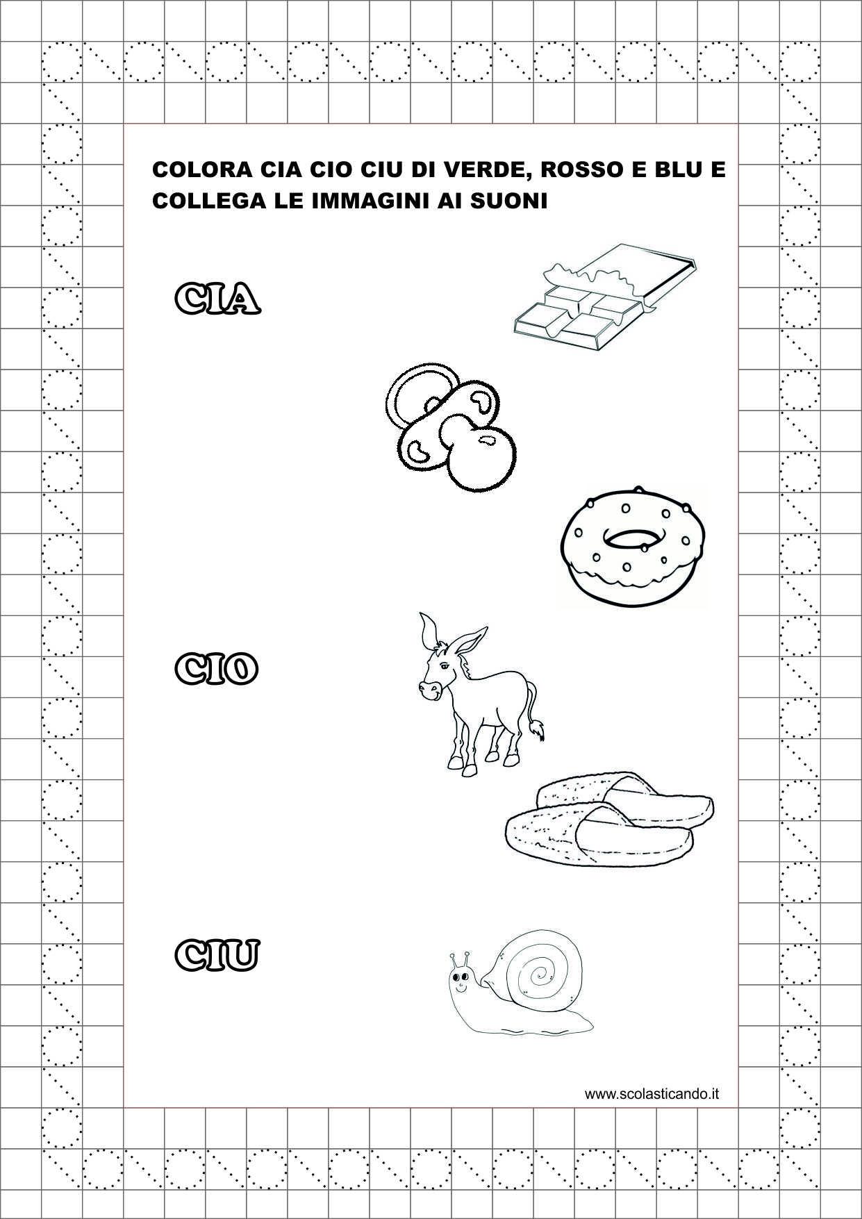 spesso Classe prima: schede da scaricare CIA, CIO, CIU VM38