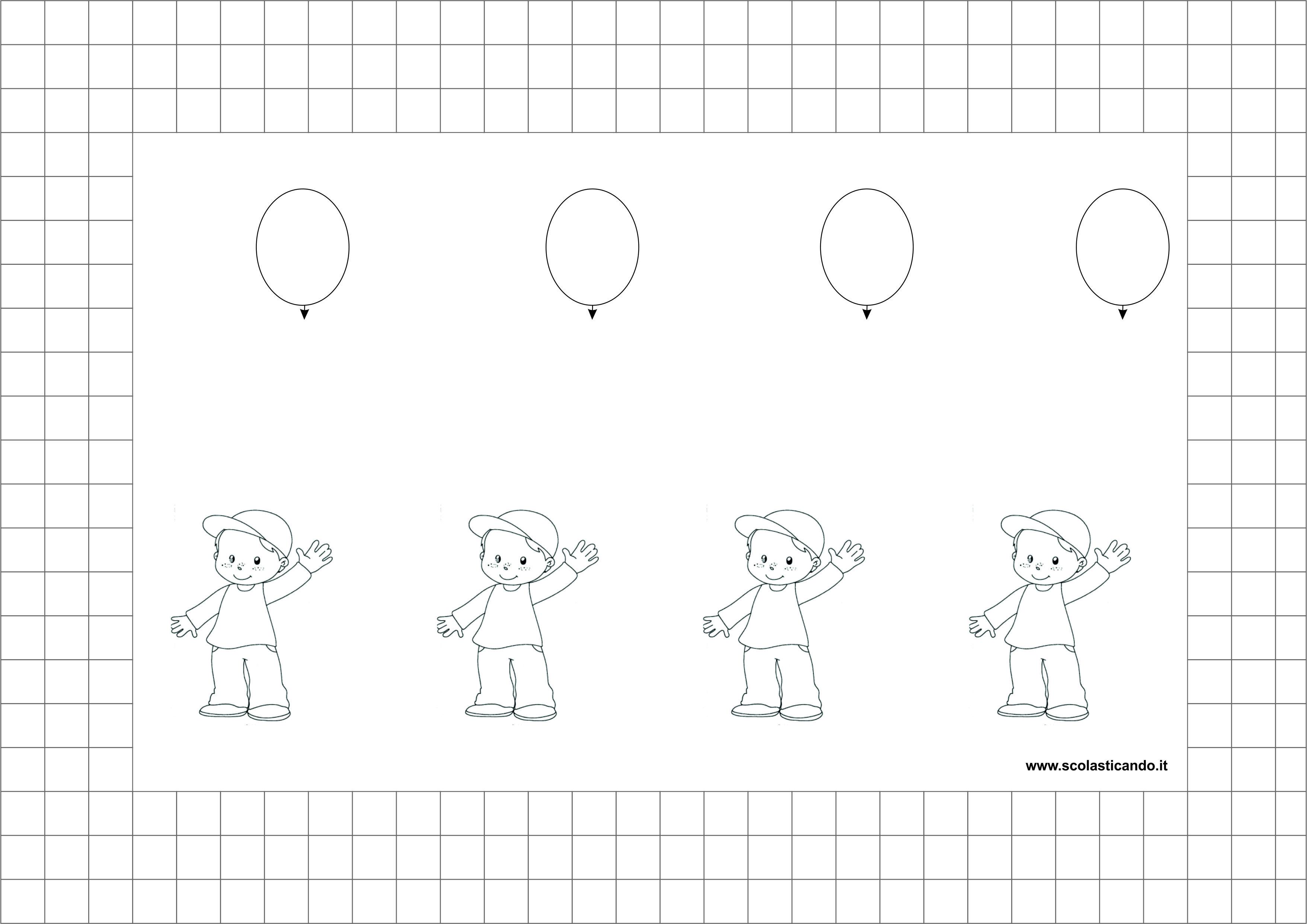 Eccezionale Frostig: esercizi di coordinazione visuomotoria, schede 19 – 23  QK67