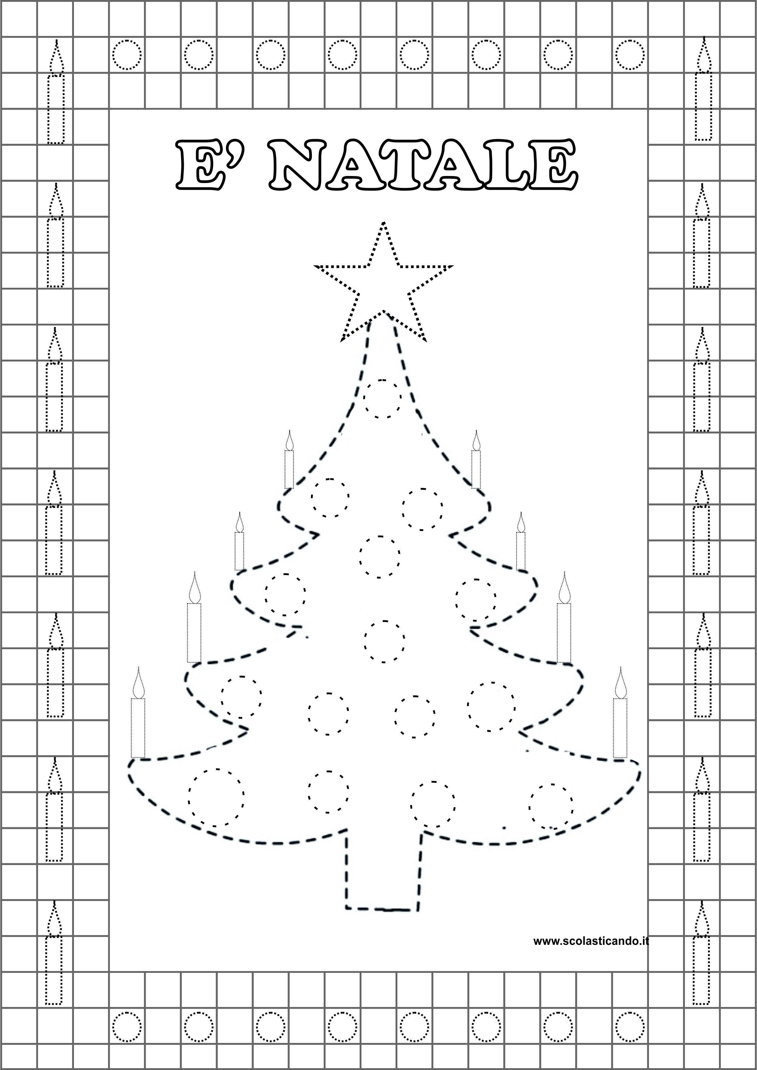 Poesie Di Natale Prima Elementare.Feste E Ricorrenze Natale Biglietto E Schede Da Scaricare