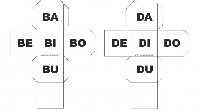 Classe prima italiano gioco con sillabe prima parte for Ba cabina di prima classe